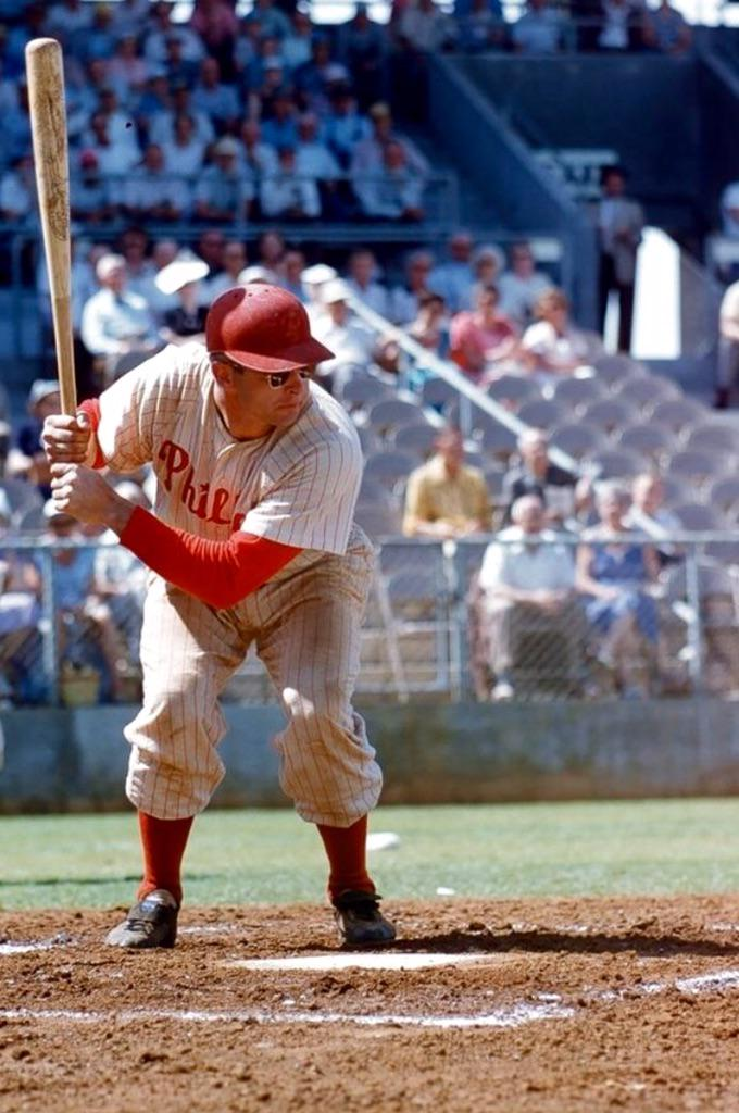 the strangest batting stance i ever saw stan lopata