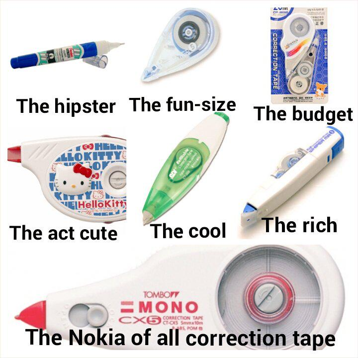 A #sosingaporean guide to the types of correction tape we use in school http://t.co/DHnK2GnUYk