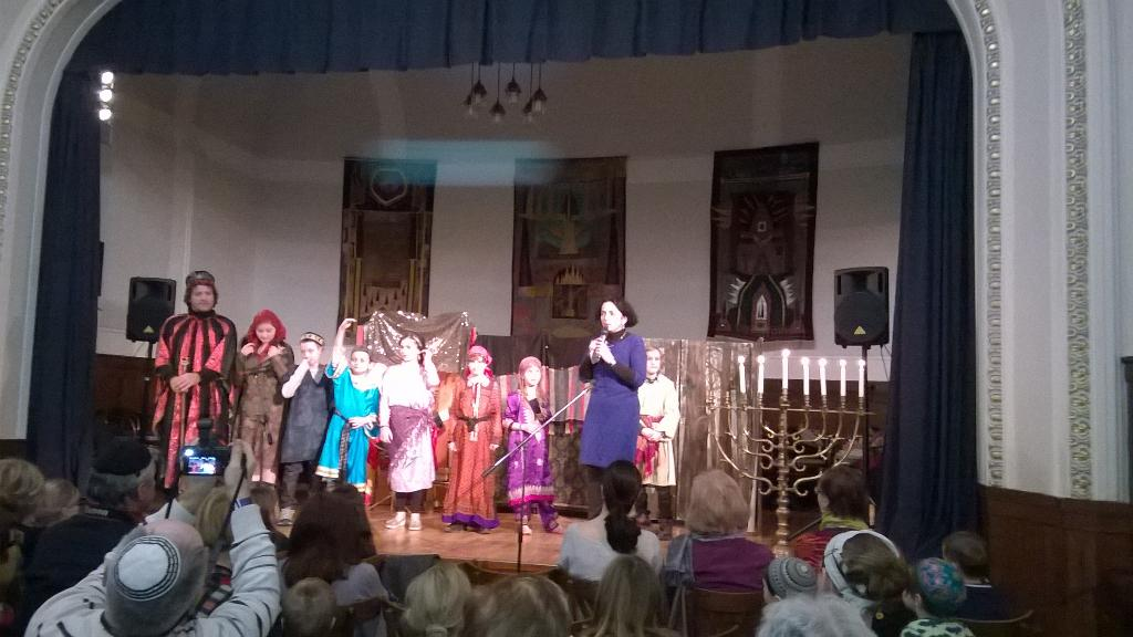 #Chanukah children's theater in