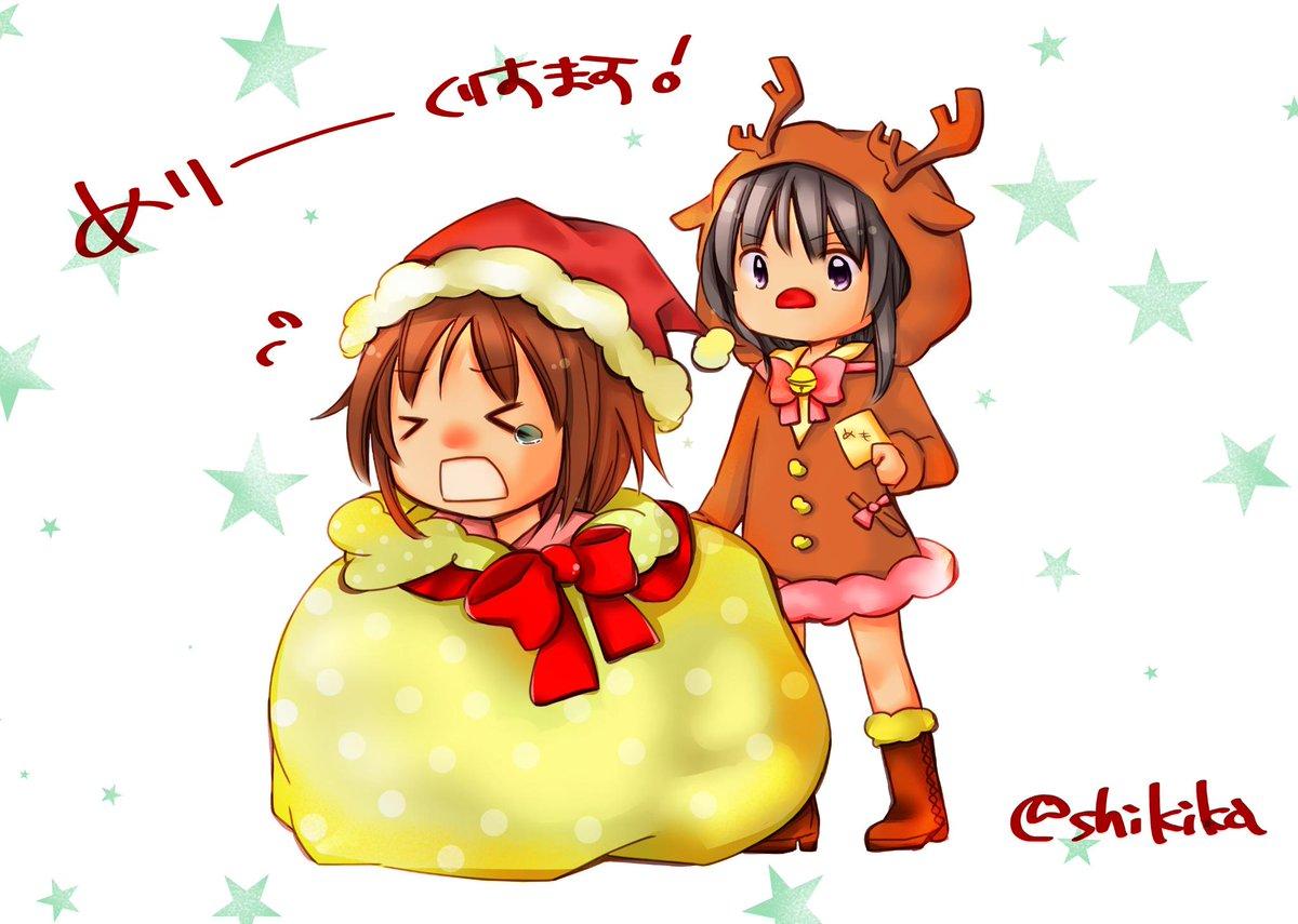 クリスマスにまにあった。最近ゆのかさんまともな顔してない気がする(ひどい。@yunoka http://t.co/qUiNhrrzaj