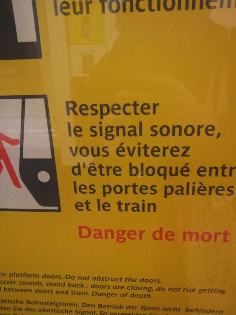 RATP : respecter l'orthographe est impératif