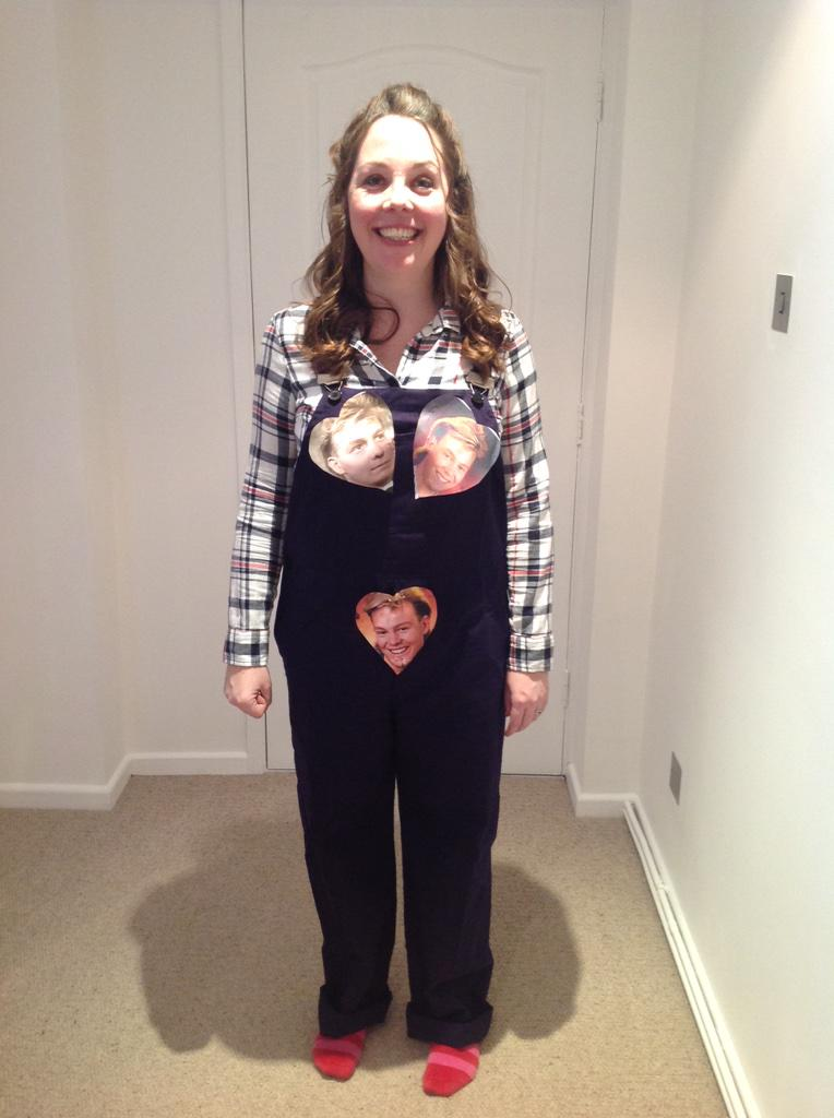 "Louise Hughes on Twitter: ""Fancy dress brief said childhood heroes ..."