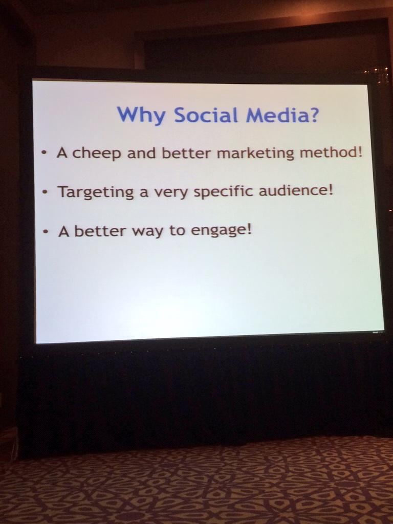 Why marketing through Social Media is important? By @Alhaithami   #ASMF  #ASFM5 http://t.co/GONa0pRQxg
