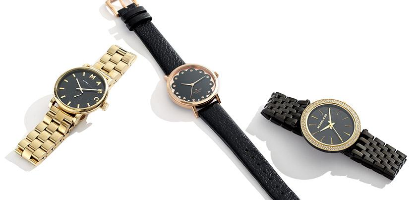 Always arrive on time and in style w/ timepieces from @MarcJacobsIntl & @MichaelKors http://t.co/v0QNoMXRlf http://t.co/XoVby2kuNy