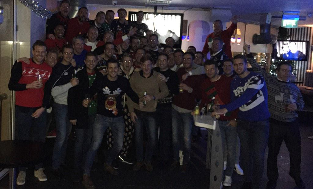 I think we have a strong group of friends !! All of us out tonight. You are all invited @FacesEssex later !! #xmas http://t.co/uFFCVs40AS