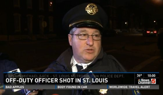 Off-duty St. Louis police officer shot - in critical condition