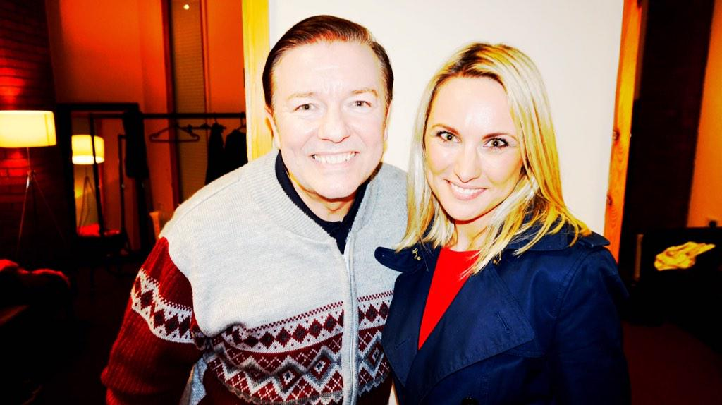 RT @KirsteenOSuv: Loved visiting @rickygervais on set of @DerekTVShow (on C4 tomorrow at 10pm). Don't miss our chat #MagicInTheMorning http…