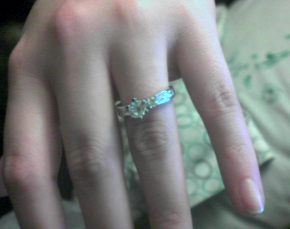 SHE SAID YES!!!!!!! @XCynnamynX http://t.co/cpTbaaQSzC