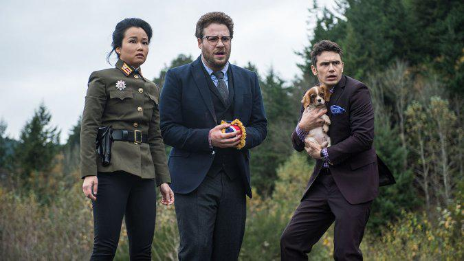 """RT @THR: North Korea Claims U.S. """"Deeply Involved"""" in Making #TheInterview, Vows Revenge http://t.co/vj66wPabt9 #SonyHack http://t.co/zlhJH…"""