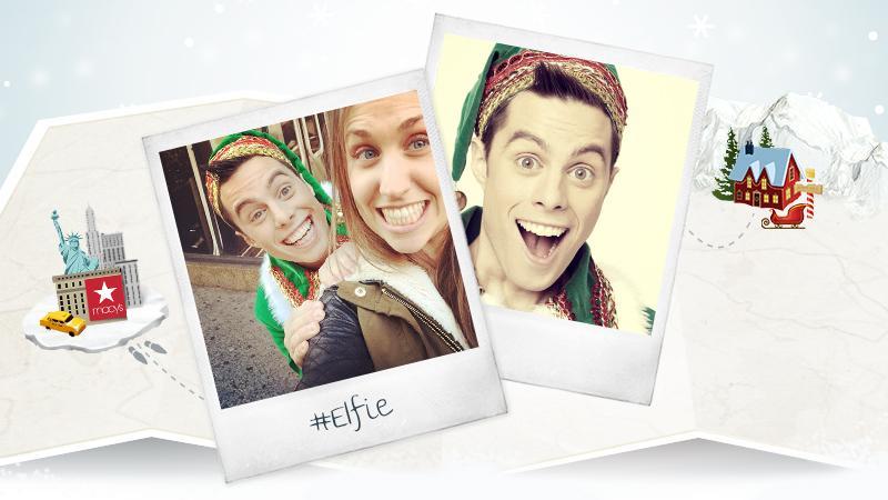 It's #elfie time! Watch @GadgetTheElf deliver the world's longest wish list to Santa now: http://t.co/U5zkeYhtNn http://t.co/xYTQjnyvu0