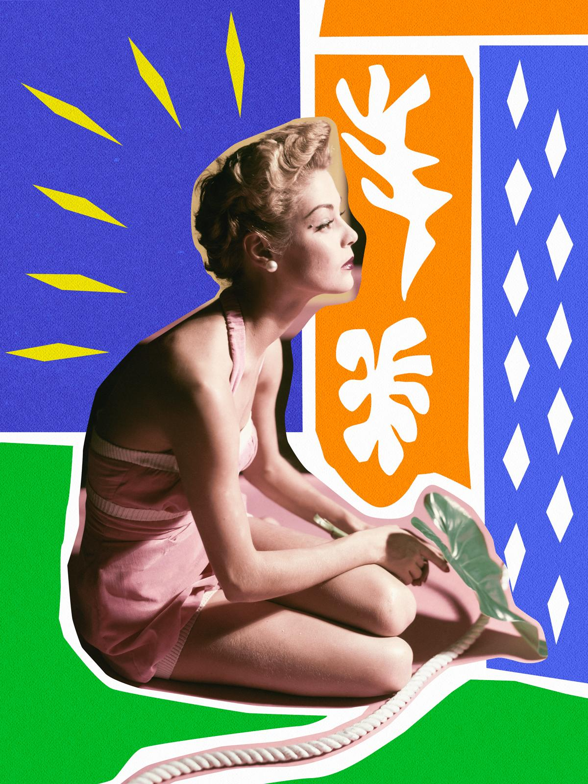 If Matisse ever met the Vogue archives, this is probably what would have happened: http://t.co/70PFfGt5iU http://t.co/uGlhMI8KTp