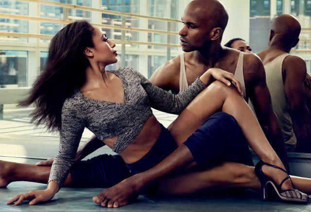 Alvin Ailey dancers—and husband and wife—Linda Celeste Sims and Glenn Allen Sims http://t.co/PfnVT9QjeN http://t.co/YyDa1wX5gQ