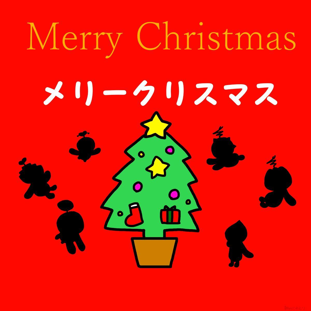【電波人間のクリスマス2014】朝のにわとりさんのイラスト その3