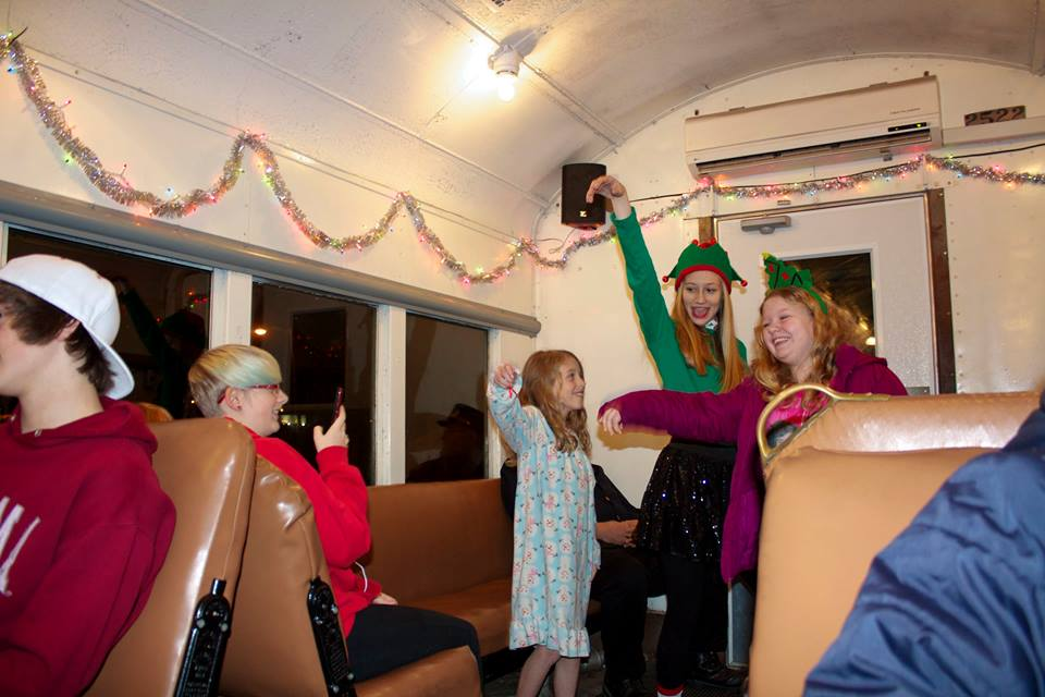 The polar express in french lick are