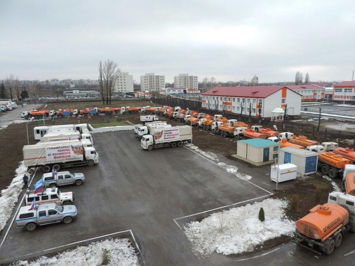 ОБСЕ зафиксировала 16 бензовозов с составе путинского гумконвоя - Цензор.НЕТ 9783