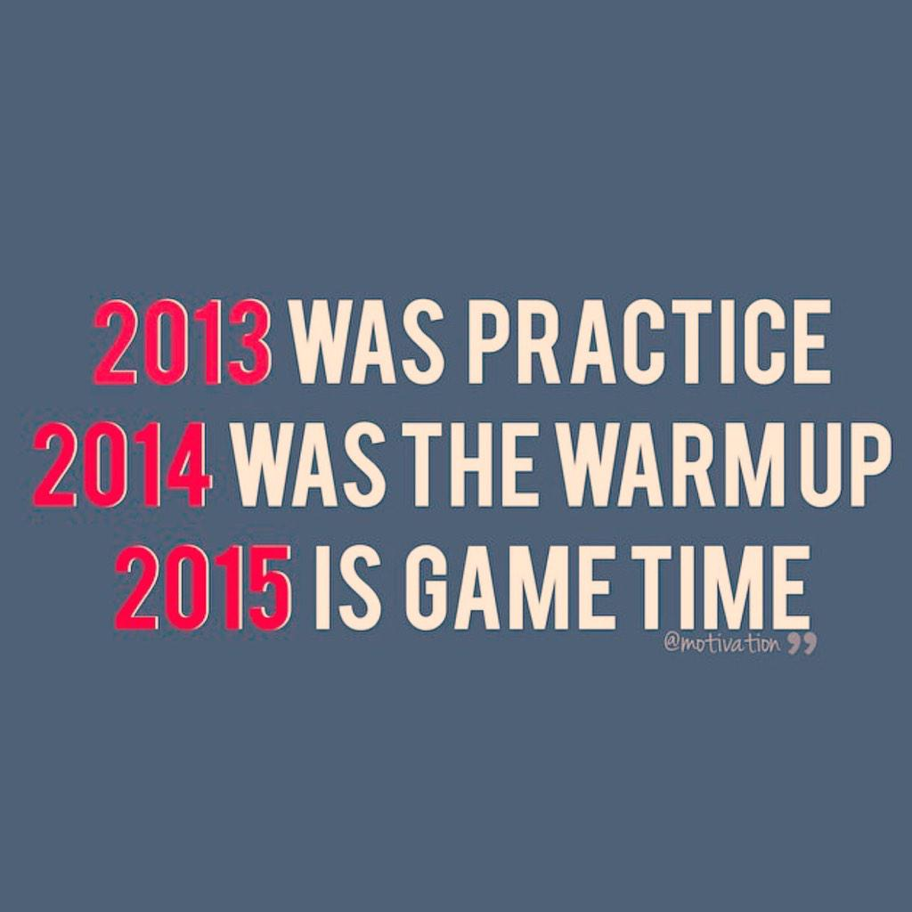 This is how I'm starting 2015. Look out. I'm warning you now. Start stretching. http://t.co/TrzEfT31yV