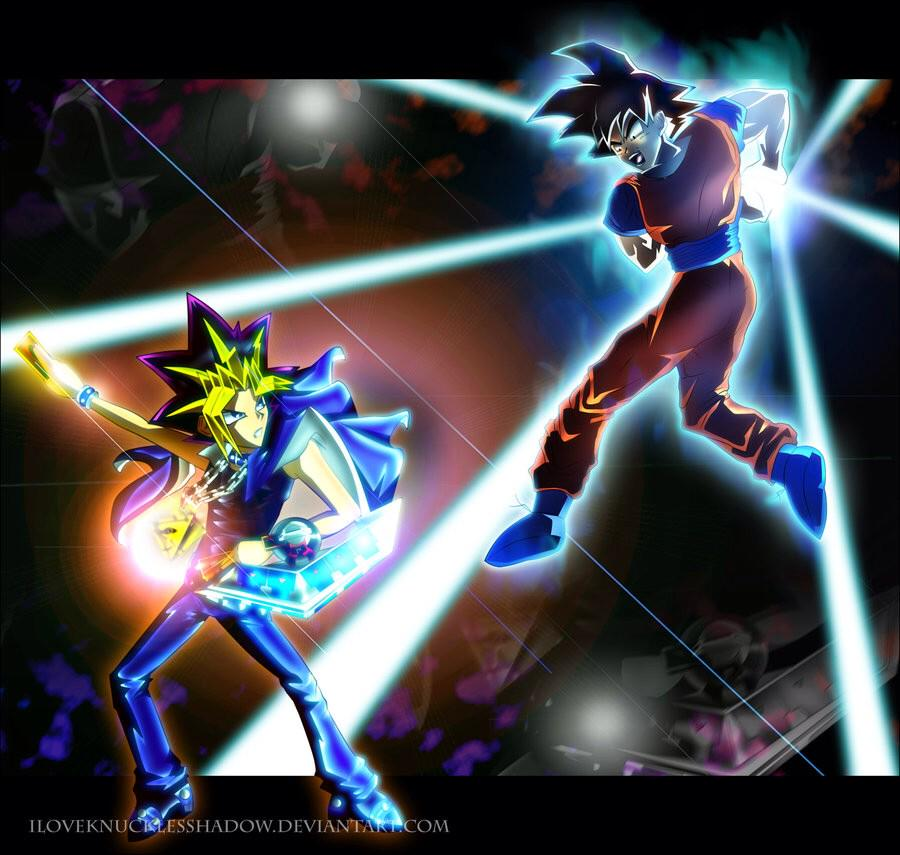 Marik On Twitter Goku Kaaa Mee Haaa Mee Yugi Wait You