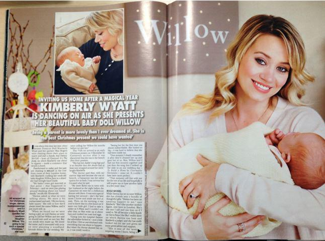 Read all about my beautiful baby doll Willow, in my exclusive chat with @hellomag! What a magical year! #babylove http://t.co/GksKeAKfl8