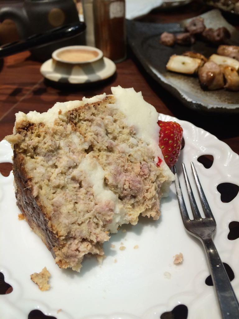 イチゴ風味のつくねだ。。 http://t.co/5hcZzVywbA
