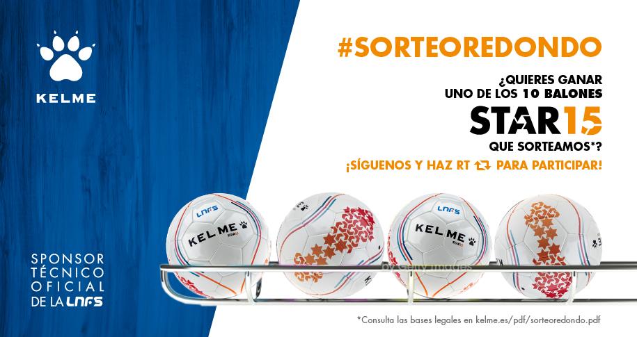 ¡Arranca nuestro #SorteoRedondo! Haz Follow+RT y entra en el sorteo de 10 balones STAR15: http://t.co/6oiaAiczB0 http://t.co/FQgJ4YmGfp