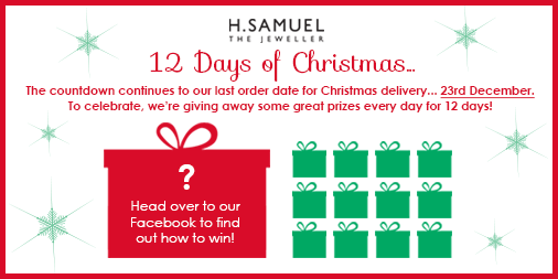 RT @hsamueljeweller: It's the last day of our 12 Days of #Christmas #competition over on facebook! Have you entered yet? http://t.co/QommHL…