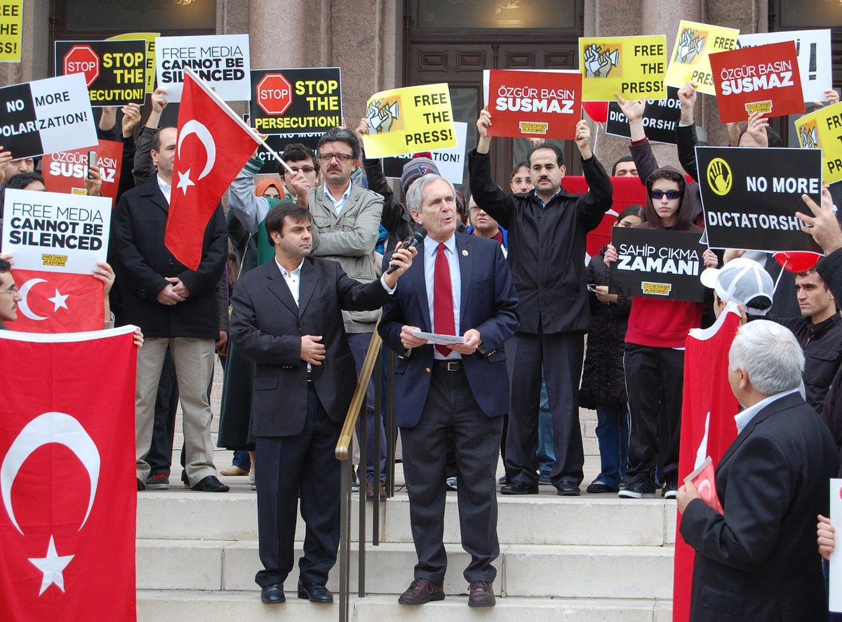 Joined Turkish Texans at State Capitol this weekend to speak out against suppression of democracy in Turkey http://t.co/rNbvOUwzWu