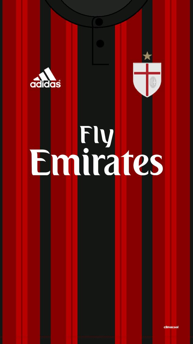 fx on twitter ac milan home kit wallpaper acmilan. Black Bedroom Furniture Sets. Home Design Ideas