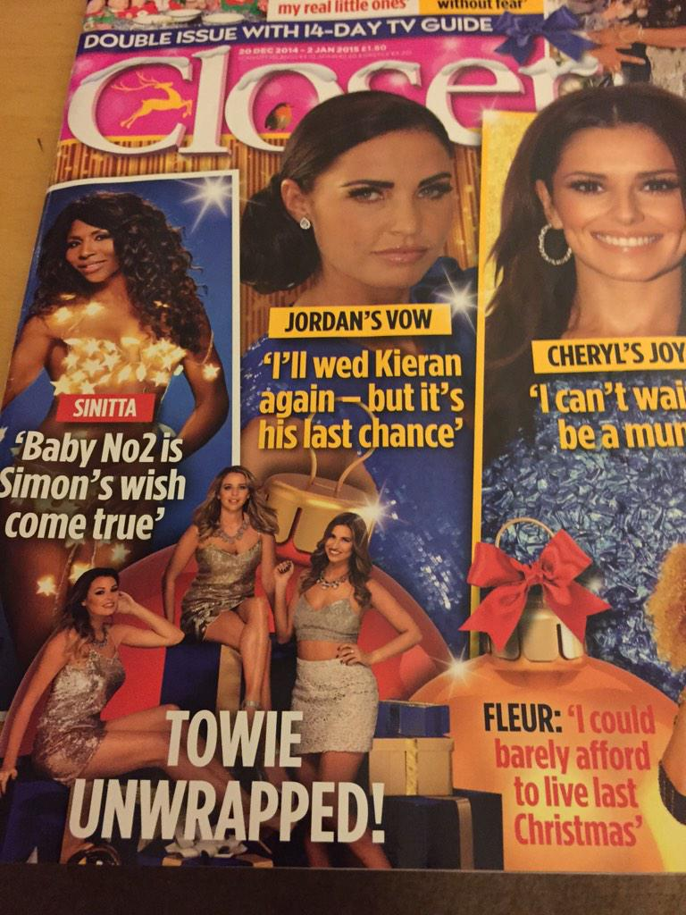 RT @gavzilla71: @sinittaofficial I cut it out of this mag, stuck it on cardboard, loo roll at the back. ;-) http://t.co/JLsWaqF9T7