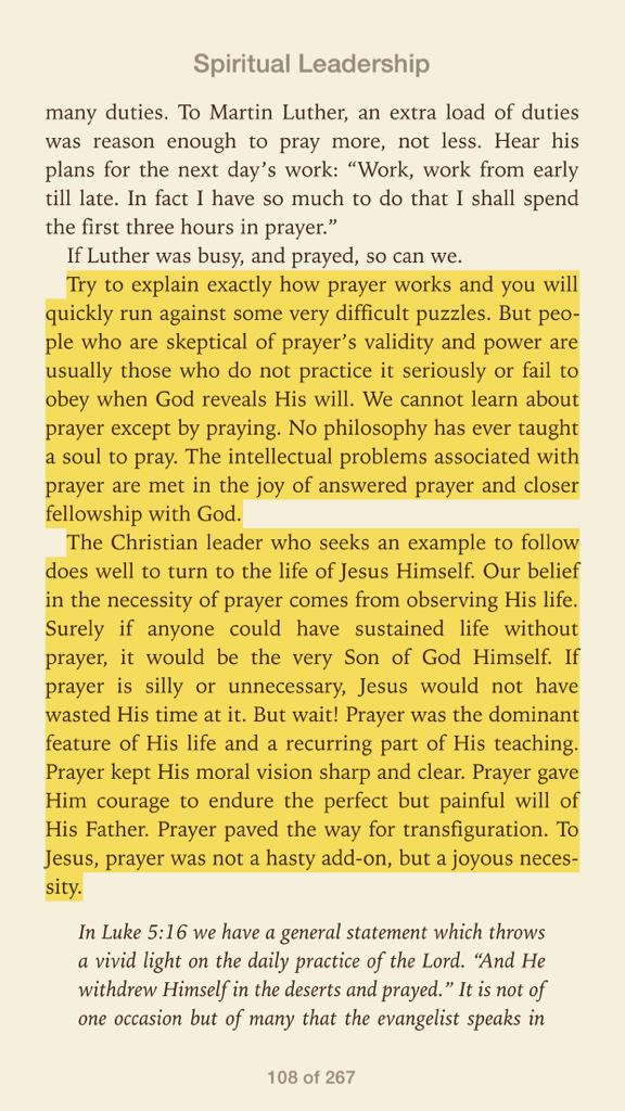 "Jon Tyson on Twitter: ""for Jesus, prayer was a joyful necessity ..."