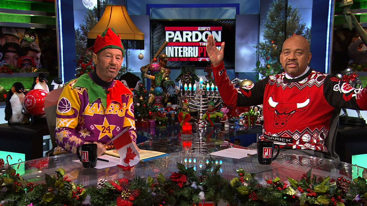 Retweet if u think they should auction for charity. RT @PTI: May your holidays be more beautiful than these sweaters. http://t.co/GIywuQNIYZ