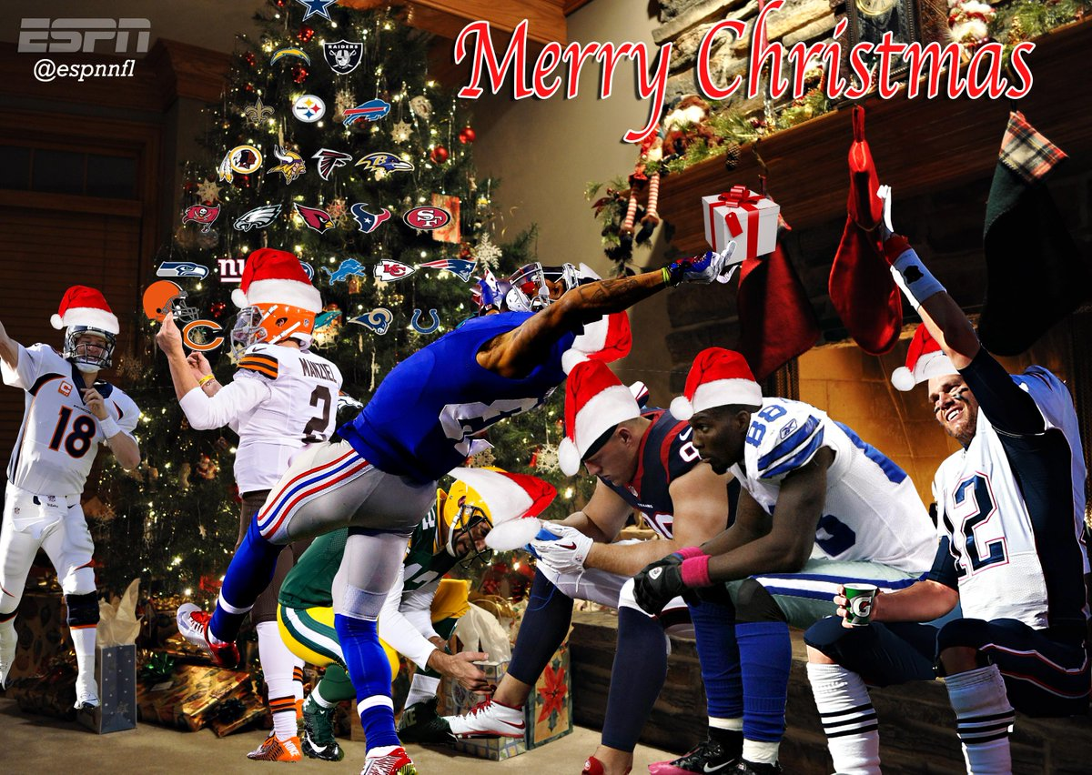 espnnfl merry christmas nfl fans pictwittercomrhh5wwlkt9 brianbarnett27 - Nfl On Christmas 2014