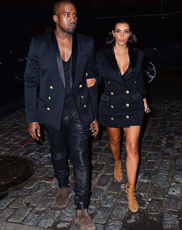 See all the photos from @KimKardashian and Kanye West super sexy @balmain campaign: http://t.co/sDetc0m6cL http://t.co/BdKpNA7IAa
