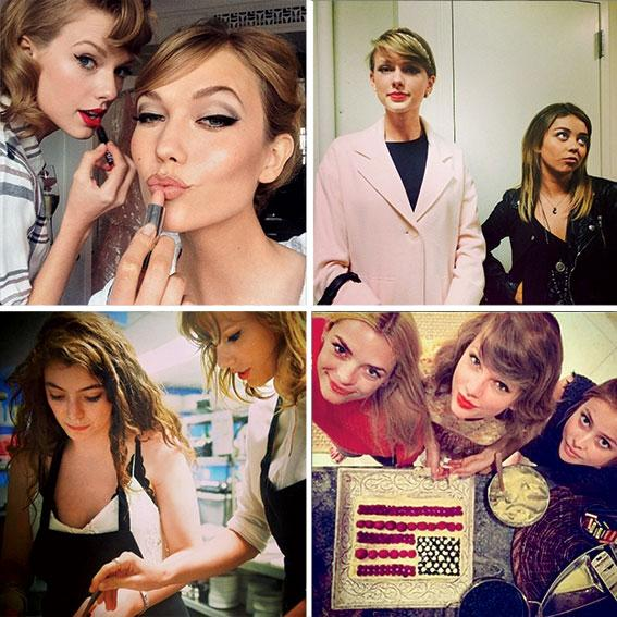 2014 was Taylor Swift's year of the besties: http://t.co/p0UY64e2SG http://t.co/7MHaIHeDjp