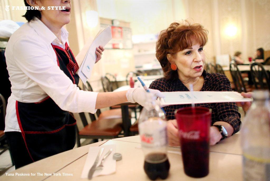 Joy Behar says goodbye to Cafe Edison with one last blintz. http://t.co/8wylFm2KYY http://t.co/tuYKHjys3h