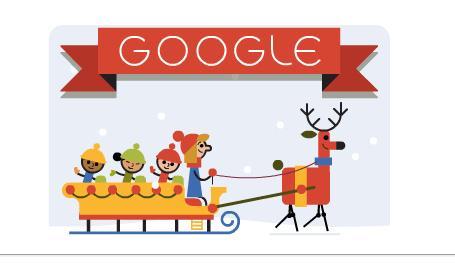 Buone Feste Doodle Google 2014