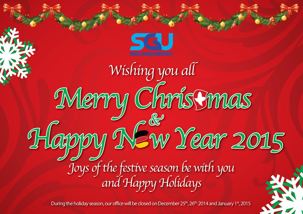 How Do You Say Merry Christmas In German.Swiss German University On Twitter We Are Family Of Swiss