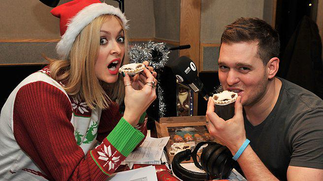 RT @BBCR1: It wouldn't be Christmas without @michaelbuble! Fearne's re-playing his festive Live Lounge next (2 more sleeps!) http://t.co/xx…