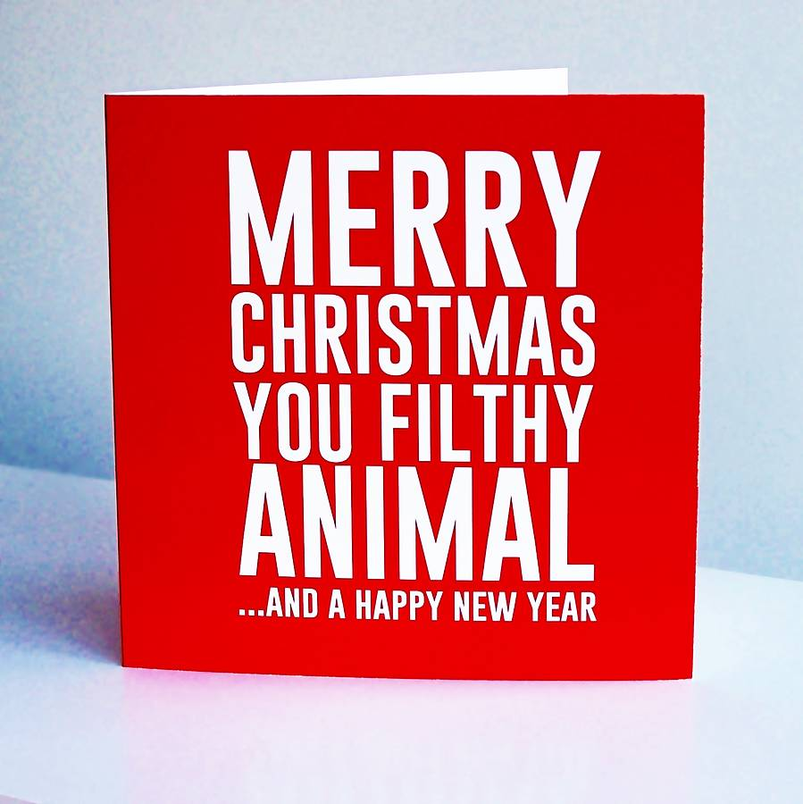 Merry Christmas Ya Filthy Animal And A Happy New Year.Project On Twitter Merry Christmas You Filthy Animal And A