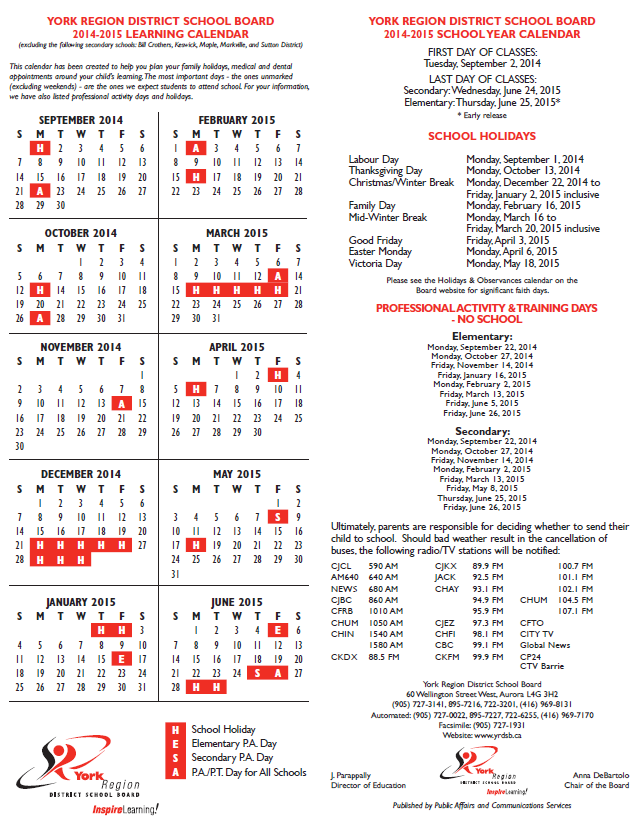 york region dsb on twitter school resumes jan 5 check out the yrdsb school year calendar for other important dates httptcotk6qu0fzmr