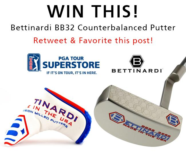 Golfers - RT for a chance to win a FREE @BettinardiGolf putter! Top gift idea from @PGATSS - http://t.co/oMnOvmpZjt http://t.co/pHhkjyHiWJ