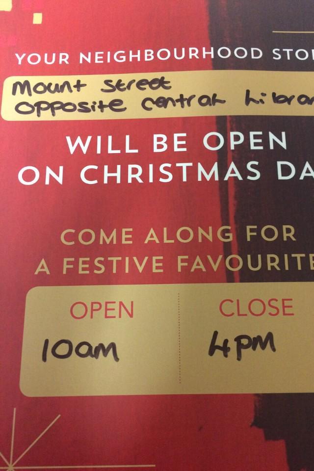 starbucksmcr on twitter starbucks mount st open christmas day come join the team httptcogsb8ww7u9o