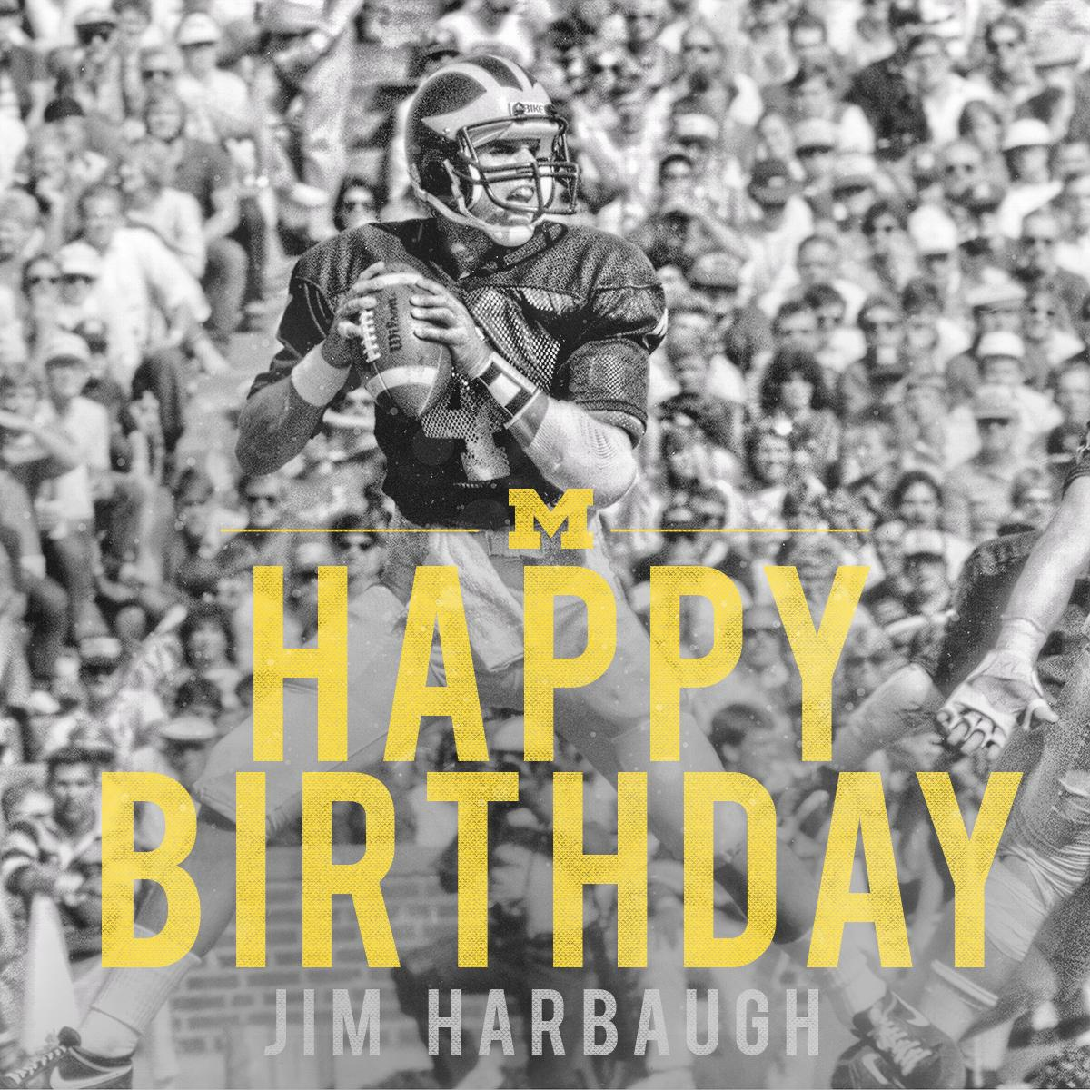 Happy Birthday, Jim. #GoBlue http://t.co/kameWJ7F5S