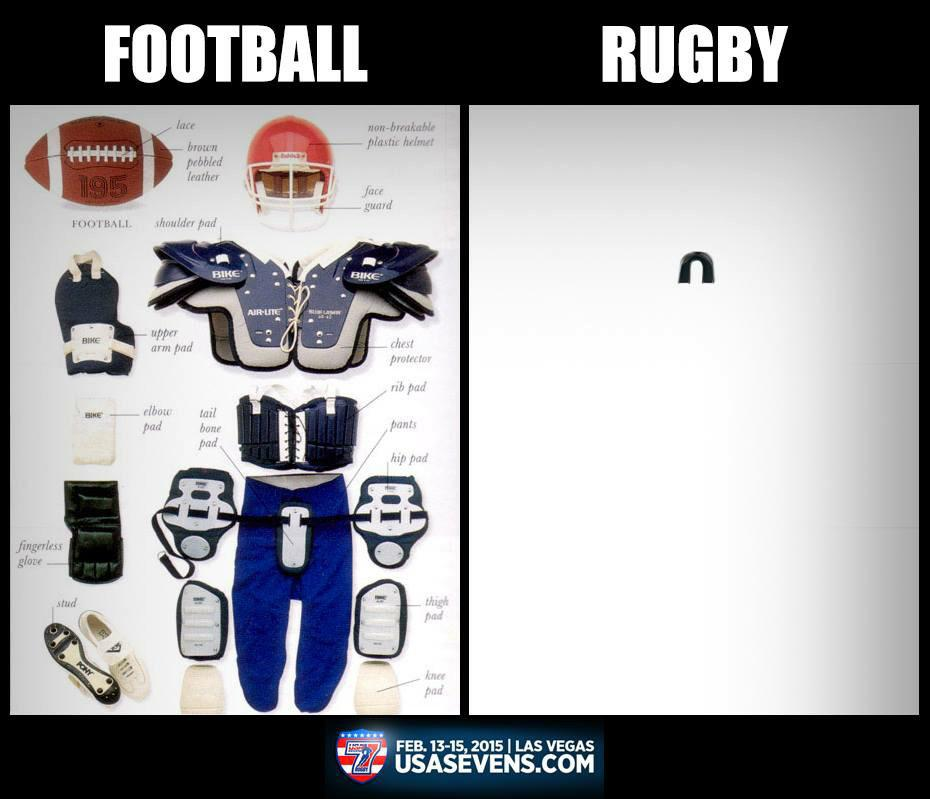 Rugby - rough and tough and proud of it! No padding required. #rugbyrules #tough #loverugby http://t.co/RZBdLeQiG7