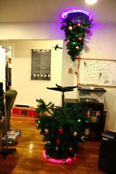 So who's got the geekiest Xmas tree this year? http://t.co/nsyp4W2F4e