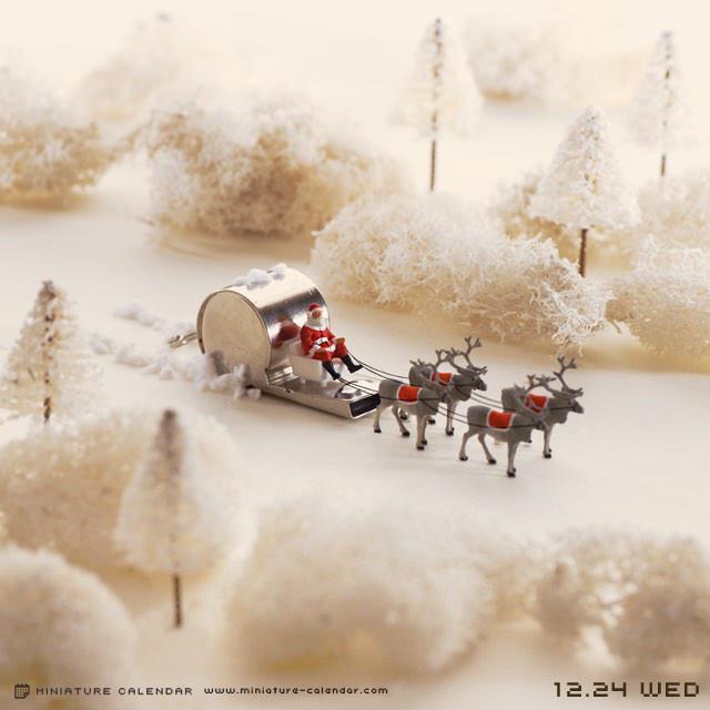 12.24 wed 「ピッピッ♪いっそげ♪ピッピッ♪いっそげ♪」 #クリスマスイブ #christmaseve pic.twitter.com/sZunJmt5rc