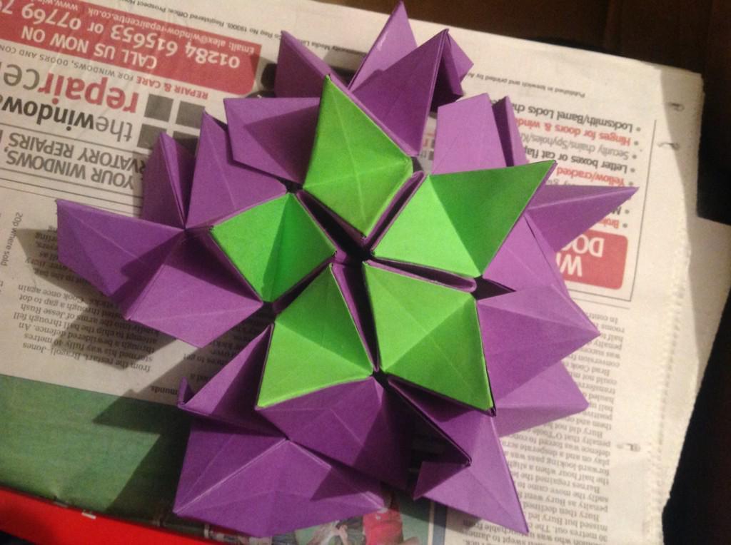 Clarissa grandi on twitter all done origami revealed flower clarissa grandi on twitter all done origami revealed flower designed by valentina gonchar now to wrap it httptkki9emf2wo mightylinksfo