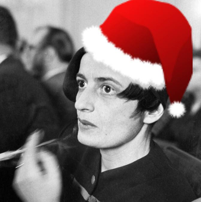 Umm  RT @LOLGOP: There isn't one image of Ayn Rand wearing a Santa hat on the entire internet. #AiringOfGrievances http://t.co/wcLRrvIflD