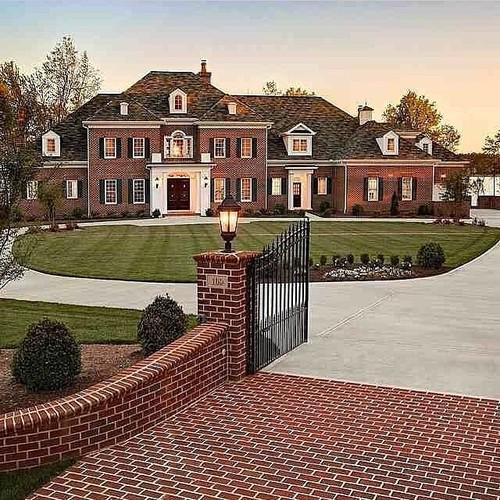"Luxury Brick Homes: Luxury Goals On Twitter: ""Brick Mansion. Http://t.co"