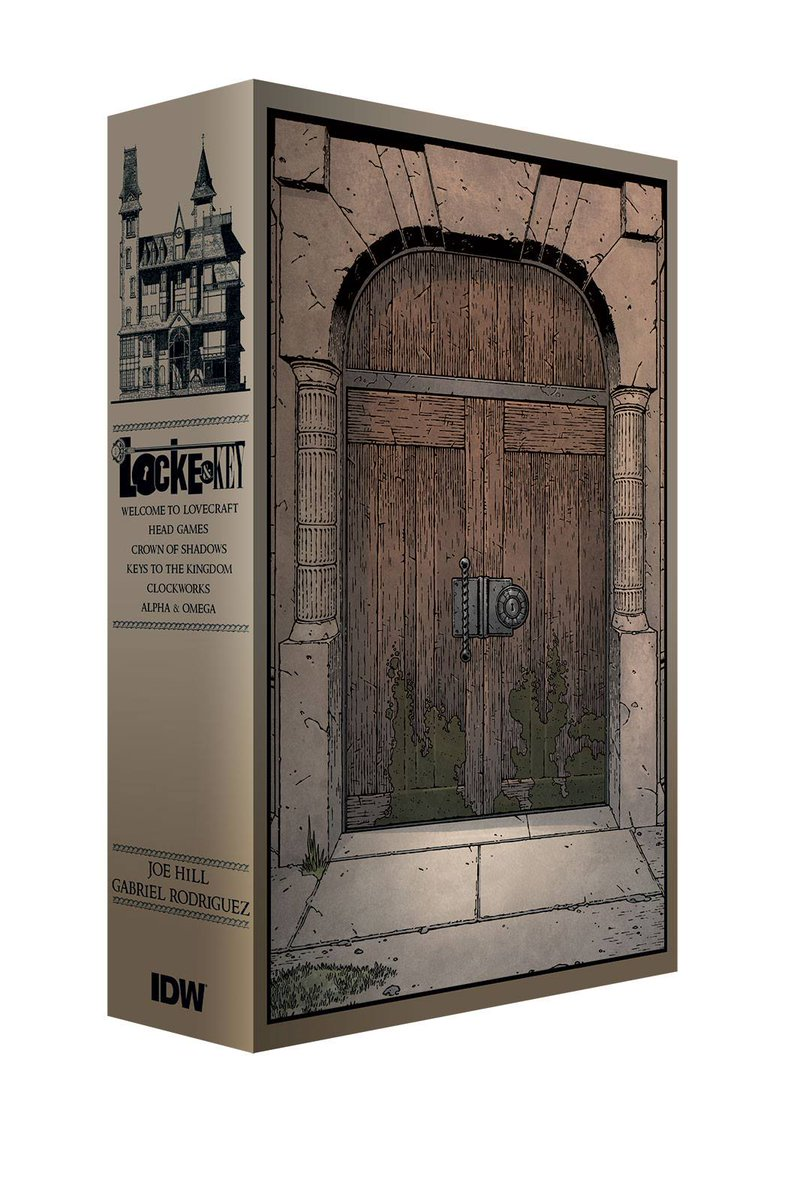 On the 11th day of Holiday Love, IDW gave to you a LOCKE & KEY SLIPCASE SET! Retweet for a chance to win one! http://t.co/QCowPK6MoD