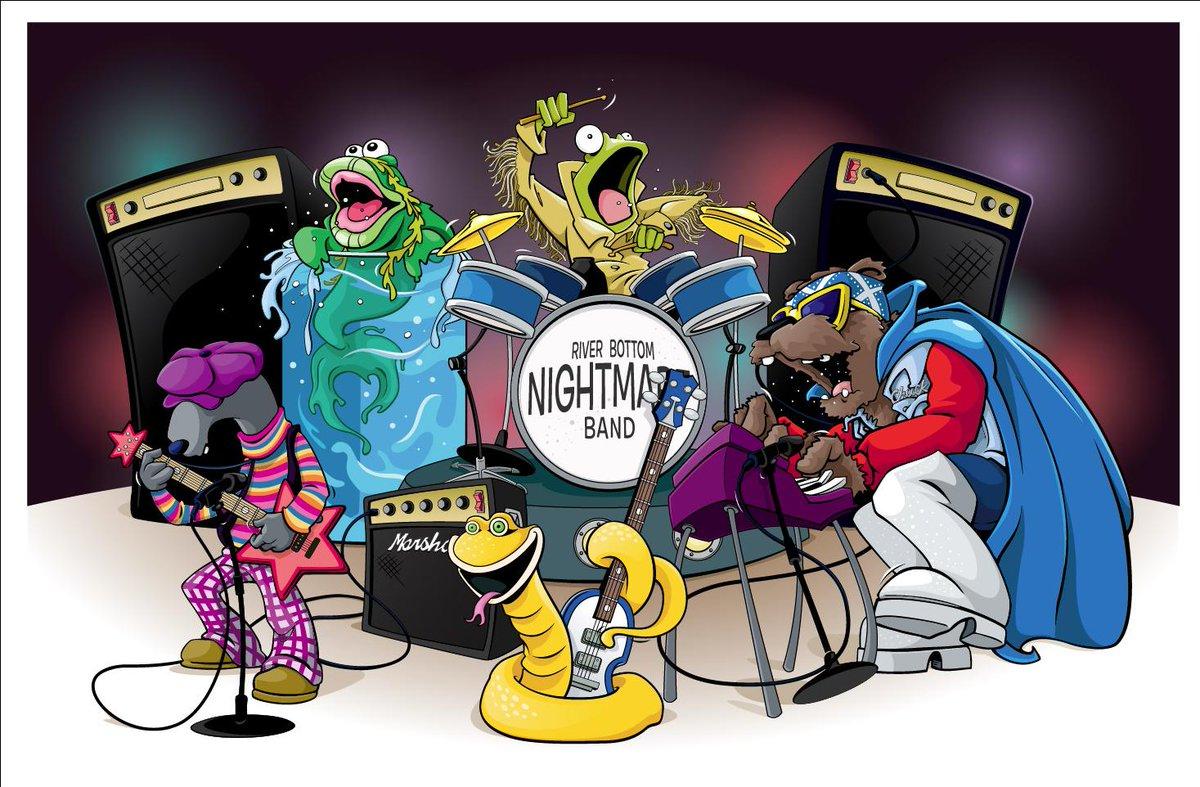Band bottom nightmare river